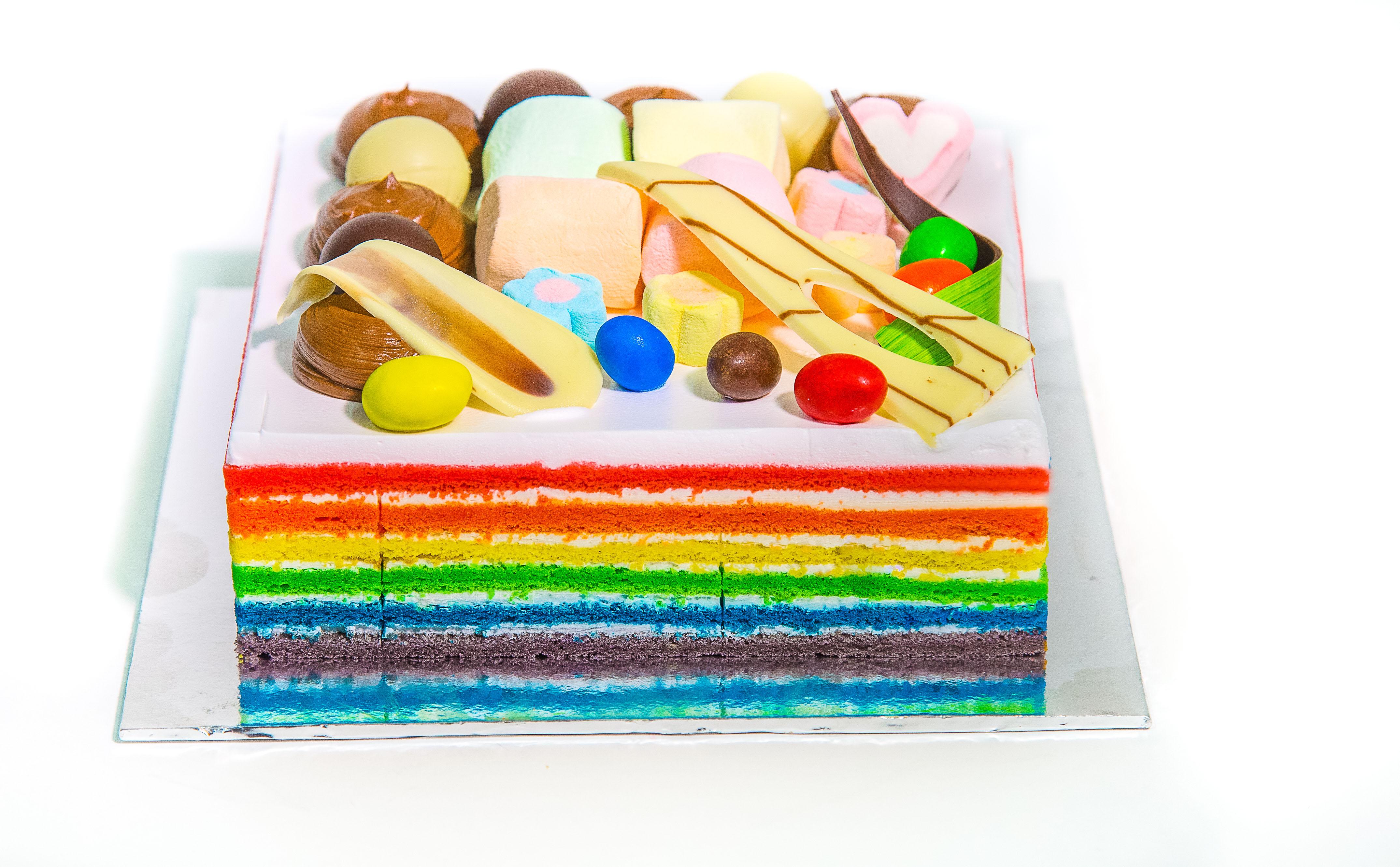 Rainbow Chocolate Cake Singapore